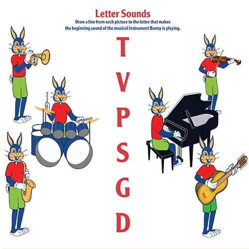 letter sounds activity sheet