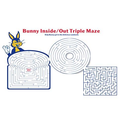 triple maze activity sheet